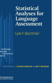 Statistical Analyses for Language Assessment Paperback