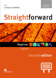 Straightforward 2nd Edition Beginner Level  IWB DVD ROM Multiple User License