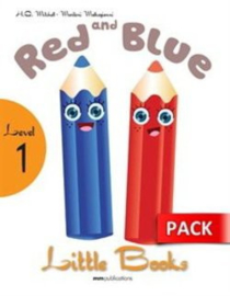Red & Blue Students Book With Cd Rom