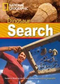 Footprint Reading Library 1000: Dinosaur Search Book With Multi-rom (x1)