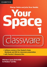 Your Space Level1 Presentation Plus DVD-ROM with Teacher's Resource Disc