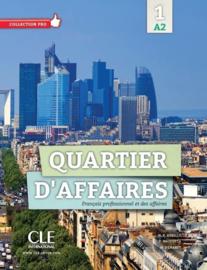 Quartier daffaires 1 - Niveau A2 - Livre de lélève + DVD Rom