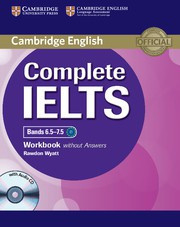 Complete IELTS Bands6.5-7.5C1 Workbook without answers with Audio CD