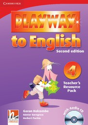 Playway to English Second edition Level4 Teacher's Resource Pack with Audio CD