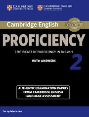Cambridge English Proficiency 2 for updated exam Student's Book with answers