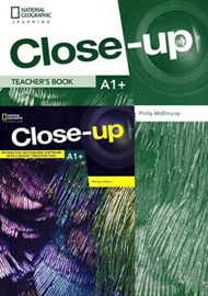 Close-up A1+ Teacher's Book + Online Teacher's Zone + Audio + Video Discs + Iwb