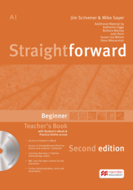 Straightforward 2nd Edition Beginner Level  Teacher's Book + eBook Pack