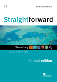 Straightforward 2nd Edition Elementary Level  Class Audio CD (2)