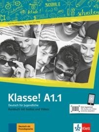 Klasse! A1.1 Studentenboek met Audio en Video
