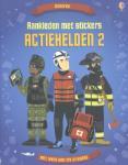 Aankleden met stickers - Actiehelden II (Paperback / softback)