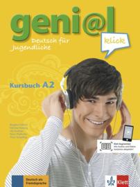 geni@l klick A2 Studentenboek met 2 Audio-CDs