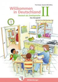 Willkommen in Deutschland – Deutsch als Zweitsprache II Übungsheft II met Stickerbogen en Lösungen