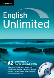 English Unlimited Combos Elementary A Combo with DVD-ROMs (2)