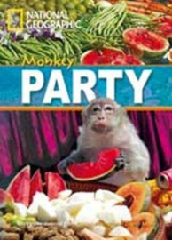 Footprint Reading Library 800: Monkey Party Book With Multi-rom (x1)
