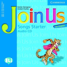 Join Us for English Starter Songs Audio CD