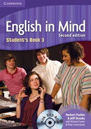 English in Mind Second edition Level3 Student's Book with DVD-ROM