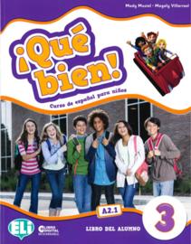 ¡qué Bien! 3 - Class Digital Book - Dvd