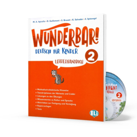 Wunderbar! 2 – Teachers Guide + 2 Audio Cds