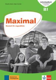 Maximal B1 Lehrerhandbuch mit CD-ROM, 2 Audio-CDs zum Kursbuch und 1 Audio-CD zum Arbeitsbuch