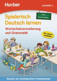 Wortschatzerweiterung und Grammatik – neue Geschichten Buch