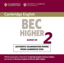 Cambridge BEC 2  Higher 2 Audio CD