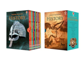 Usborne Beginners: History Box Set (10 books)