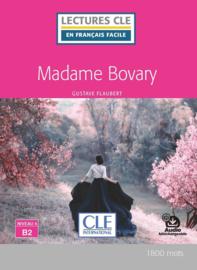 Mme Bovary -Niveau 4/B2 - Lecture CLE en français facile + Livre + audio téléchargeable