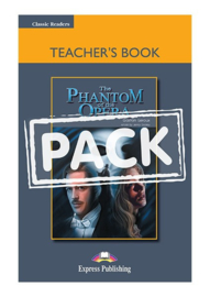 The Phantom Of The Opera Teacher's Book With Board Game