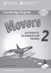 Cambridge English Young Learners 2 Movers Answer Booklet
