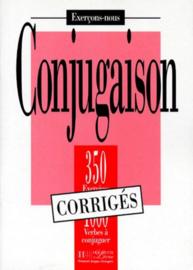 CONJUGAISON. 350 exercices, 1000 verbes à conjuguer, corrigés