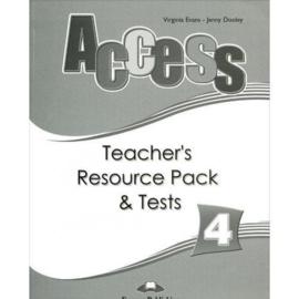 Access 4 Teacher's Resource Pack & Tests (international)