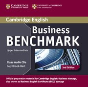 Business Benchmark Second edition UpperIntermediate Business Vantage Class Audio CDs (2)