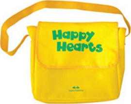 Happy Hearts 2 T's Bag 1 Yellow  ( Multi Rom Pal & Extra Optional Units) New