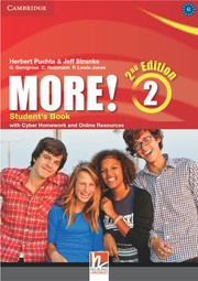 More! Second edition Level2 Student's Book with Cyber Homework and Online Resources