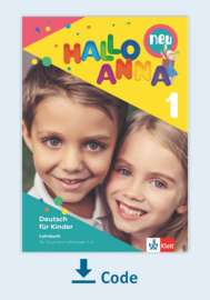 Hallo Anna 1 neu Digitaal Lehrbuch