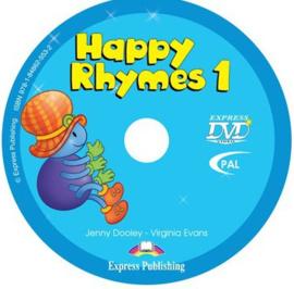 Happy Rhymes 1 Dvd Pal