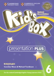 Kid's Box Updated Second edition Level6 Presentation Plus DVD-ROM
