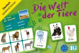 Die Welt der Tiere 66 Fotokarten 36 Spielbretter für Gruppenspiele Anleitung