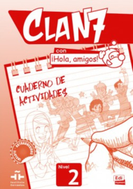 Clan 7 con ¡Hola, amigos! 2 - Cuaderno de actividades