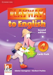 Playway to English Second edition Level4 Cards Pack
