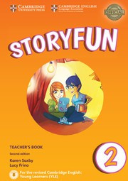 Storyfun for Starters, Movers and Flyers Second edition 2 Teacher's Book with Audio