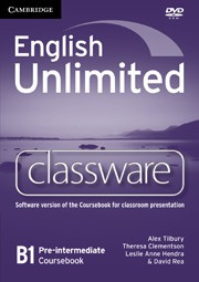 English Unlimited Pre-intermediate Presentation Plus DVD-ROM