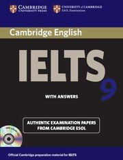 Cambridge IELTS 9 Student's Book Pack(Student's Book with answers and Audio CDs (2))