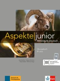 Aspekte junior B1 plus Oefenboek met Audio