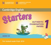 Cambridge English Young Learners 1 Starters Audio CDs (2)