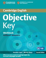 Objective Key Second edition Workbook without answers