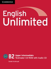 English Unlimited UpperIntermediate Testmaker CD-ROM and Audio CD