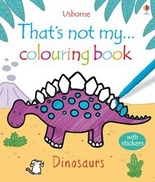 That's not my colouring book... Dinosaurs