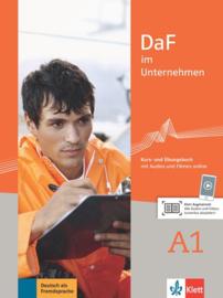 DaF im Unternehmen A1 Studentenboek en Übungsbuch met Audios en Filmen online