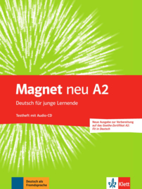 Magnet neu A2 Testheft met Audio-CD (Goethe-Zertifikat A2: Fit in Deutsch)